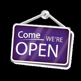 Mera öppet i butiken!