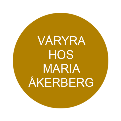Våryra hos Maria Åkerberg