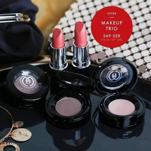 Makeup trio