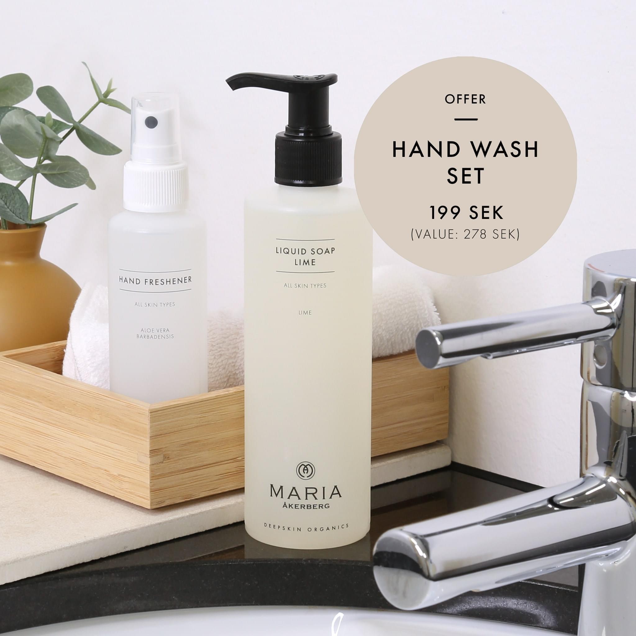 Hand wash set